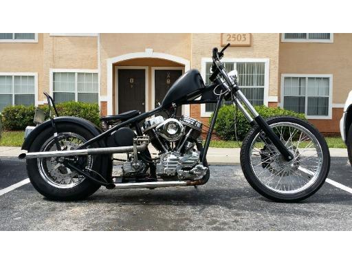 1949 Harley-Davidson Custom PANHEAD in Mount Dora, FL