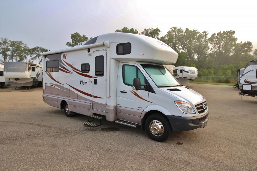 Elegant 2012 Used Winnebago VIEW 24J Class C In Michigan MI 79000
