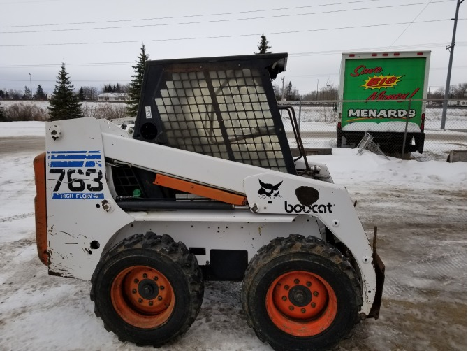 Bobcat 763 Skid Steer Loaders Detroit Lakes Mn Bobcatusedcom